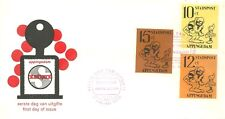 APPINGEDAM (NETHERLANDS) LOCAL POST FIRST DAY COVER 1970 CARTOON CHARACTERS