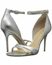 Imagine Vince Camuto NEW Women's Sz 9.5 Silver Metallic Sherline Heeled Sandal