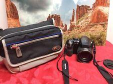 Fujifilm FinePix S Series S4200 14.0MP Digital Camera - Black + Case