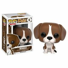 Funko Pop! Vinyl * Beagle * #6 Pets Dog Puppy Hound Figure New in Box POP