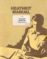 Heathkit SB-614 Station Monitor Assembly & Operation 110 page Digital Manual