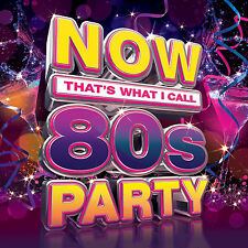 Now Thats What I Call 80s Party 3 Disc Set 2017 Album Music CD Boxed