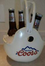 "Vintage COORS Beer 1990 Football Helmet Chip Container Beer Holder ""bowl"""