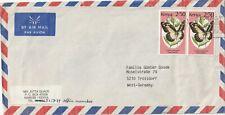 1982 Kenya cover sent from Nairobi to Troisdorf Germany