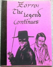 "Zorro Fanzine ""The Legend Continues"" Gen"