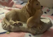 partylite tealight holder Lions Pride