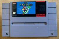 Super Mario World (1991) - Super Nintendo - Cartridge Only