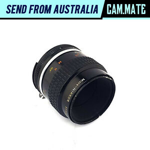 Nikon Micro-Nikkor 55mm F/2.8 Prime Lens Made in Japan [Haze] N8138