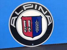 Very Rare Alpina Bmw Germany Reproduction Garage Sign