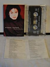 Vintage Michael Jackson Single Cassette Tape~You Are Not Alone~ 1995~Lyric Sheet