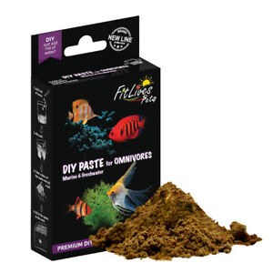 Fit Lives Pets DIY Paste for Omnivores Marine Freshwater Tropical Fish Food