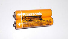 2Pcs AAA Panasonic 550mAh 3A 1.2V Ni-MH Rechargeable Battery Cell For MP3 RC Toy