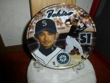 Ichiro Susuki-Seattle Mariners Collector Plate-Must See!!