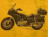 80s HONDA Gold Wing Motorcycle T-Shirt Men\u2019s Large