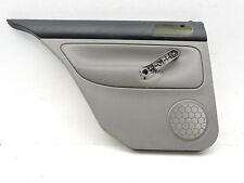 Mk4 Vw Jetta Gray Rear Left Leather Door Panel Card Trim Factory Oem -553C
