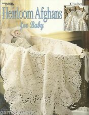 Heirloom Afghans for Baby Terry Kimbrough Rare HTF Crochet Pattern Book LA3059