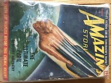 Amazing Stories March 1950 Vintage Pulp Magazine Very Good Condition.