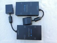AS IS Lot of 2 Sony PlayStation 2 PS2 Multitap