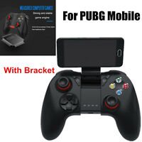 Wireless Bluetooth Gamepad Remote Control for Android IOS Phone Joystick Bracket