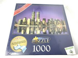 New York City Skyline Commemorative Edition 1000 Pc Jigsaw Puzzle Twin Towers