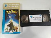 Los Unberührbare de Elliot Ness Brian Palma VHS Packung Karton Spanisch Der Welt