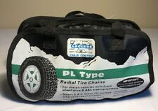 Laclede #1130 PL Type Radial Tire Chains for Winter Class S  13 14 15 16 390