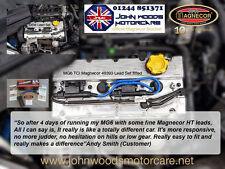 MG ZT 1.8i 16v DOHC MAGNECOR 40393 IGNITION LEAD SET BLUE