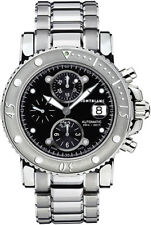 104659 | BRAND NEW AUTHENTIC MONTBLANC SPORT CHRONOGRAPH AUTOMATIC MENS WATCH