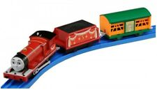 PLARAIL THOMAS & FRIENDS JAMES & FREIGHT CAR Takara Tomy