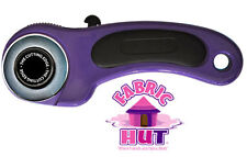 37241- New Purple Sullivans The Cutting Edge Rotary Cutter 45mm Fabric Cut Blade