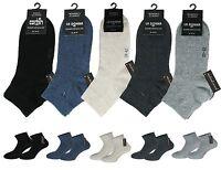 6 Paar Damen Diabetiker Quarter Socken Kurzschaftsocken ohne Gummi und ohne Naht