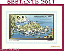 ITALIA MAXIMUM MAXI CARD 2000 IL TURISMO ISOLA BELLA DI TAORMINA  A18