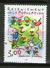 TIMBRE 3223 NEUF XX LUXE - RECENSEMENT DE LA POPULATION - CARTE DE FRANCE