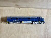 Ho Scale Con-Cor Wabash Dummy Locomotive #1002 Selling As-Is For Repair