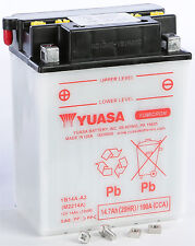 YUASA 2015-2016 Sportsman 570 Touring SP BATTERY YB14A-A2 YUAM2214A PLT-250 Pola