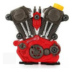 Kids Build Your Own Motorcycle Engine Overhaul Set Light And Sound Mechanics Toy