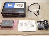 AJA HDP2 Mini Audio Video Converter Nice in Box Made in USA