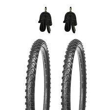 2 Fahrradreifen MTB 24 Zoll Reifen 24x1.95+2xSchlauch mit DV(35mm)