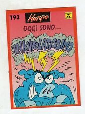 figurina card - HARPO MASTER CARDS  - numero 193