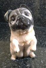 Beswick Porcelain Figure Figurine Begging Fawn Pug  Dog Figure