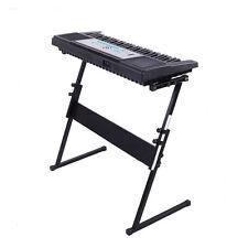 New Z-Shape Adjustable 61 Keys Electric Piano Electronic Rack Stand Black