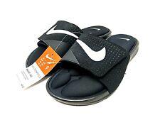 Nike Ultra Comfort Footbed Slide Black White 882687 003 Men's Size 9