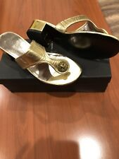 Marc Jacobs Shoes, Size 7,5, Color Gold, Leather, New.