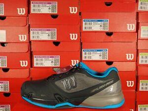 Wilson RUSH PRO 2.5 2019 Tennis Shoes Blue / Gray Size 14 Ortholite