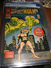 TALES TO ASTONISH #78 CGC 7.5  1966 Puppet Master ~Rare! ~Sub Mariner & Hulk