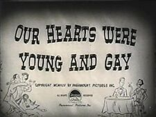 OUR HEARTS WERE YOUNG AND GAY 1944 (DVD) DIANA LYNN