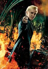 Harry Potter Draco Malfoy - A4 Glossy Poster - Film Movie Free Shipping #37