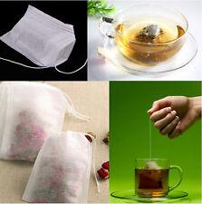 Disposable Herb Flower Tea Bag Healthy Fabrics Filter Paper Teabag 100pcs/Lot