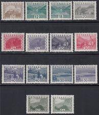 Österreich 1932 Michel Nr. 530-543 kleine Landschaften postfrisch Attest VÖB