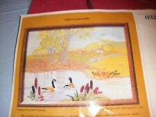 The Creative Circle Countryside Wild Geese Crewel Embroidery Kit